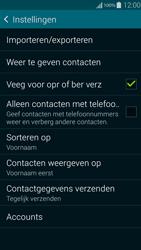 Samsung Galaxy Alpha 4G (SM-G850F) - Contacten en data - Contacten kopiëren van toestel naar SIM - Stap 7