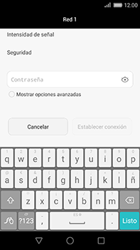 Huawei GX8 - WiFi - Conectarse a una red WiFi - Paso 6