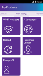 Huawei Ascend Y550 - Applications - MyProximus - Étape 22