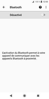Sony Xperia XZ2 - Bluetooth - connexion Bluetooth - Étape 8