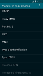 Samsung Galaxy S5 G900F - Internet - Configuration manuelle - Étape 12