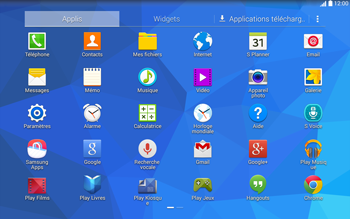 Samsung T535 Galaxy Tab 4 10-1 - Internet - Configuration manuelle - Étape 3