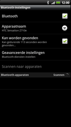 HTC Z710e Sensation - Bluetooth - Headset, carkit verbinding - Stap 6