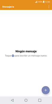 LG Q6 - Mensajería - Configurar el equipo para mensajes de texto - Paso 3