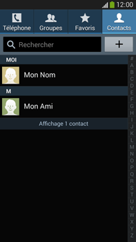 Samsung Galaxy Note 3 - Contact, Appels, SMS/MMS - Utiliser la visio - Étape 4