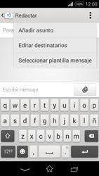 Sony D2203 Xperia E3 - Mensajería - Escribir y enviar un mensaje multimedia - Paso 6