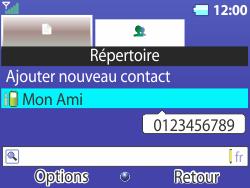 Bouygues Telecom Bc 311 - Contact, Appels, SMS/MMS - Ajouter un contact - Étape 17