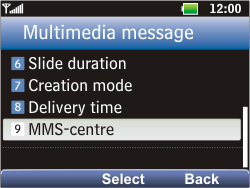 LG C360 Golf - MMS - Manual configuration - Step 19