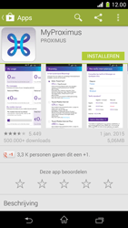 Sony Xperia Z1 Compact D5503 - Applicaties - MyProximus - Stap 8