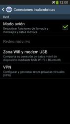 Samsung Galaxy S4 - Funciones básicas - Activar o desactivar el modo avión - Paso 7