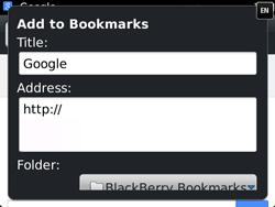 BlackBerry 9720 Bold - Internet - Internet browsing - Step 6