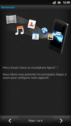 Sony Xpéria S - Premiers pas - Créer un compte - Étape 3