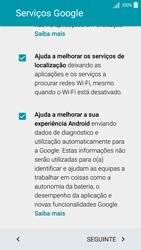 Samsung Galaxy A5 - Primeiros passos - Como ligar o telemóvel pela primeira vez -  12