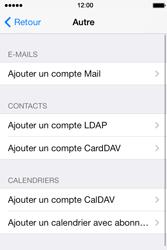 Apple iPhone 4 - E-mails - Ajouter ou modifier un compte e-mail - Étape 6