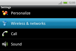 HTC A810e ChaCha - Network - Usage across the border - Step 4