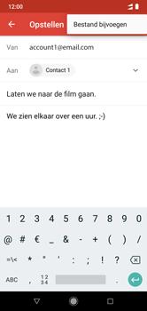 Xiaomi mi-a2-lite-dual-sim-m1805d1sg - E-mail - Bericht met attachment versturen - Stap 10