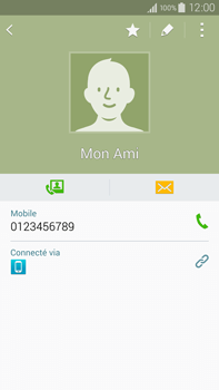 Samsung Galaxy Note 4 - Contact, Appels, SMS/MMS - Ajouter un contact - Étape 9