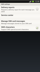 HTC S720e One X - SMS - Manual configuration - Step 5