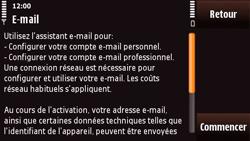 Nokia N97 Mini - E-mail - Configuration manuelle - Étape 8