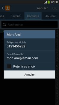 Samsung Galaxy Note 3 - Contact, Appels, SMS/MMS - Envoyer un SMS - Étape 7