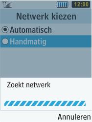 Samsung S5610 Primo - Netwerk - gebruik in het buitenland - Stap 10