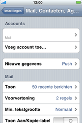 Apple iPhone 4 - E-mail - Handmatig instellen - Stap 10