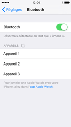 Apple iPhone 5s iOS 9 - Bluetooth - connexion Bluetooth - Étape 7
