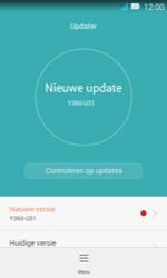 Huawei Y3 - Netwerk - Software updates installeren - Stap 10