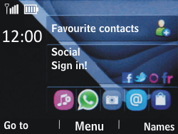 Nokia Asha 201 - Internet - Example mobile sites - Step 1