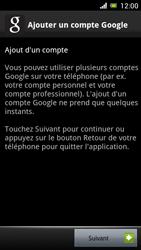Sony Ericsson Xpéria Arc - Premiers pas - Créer un compte - Étape 8