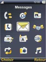 Sonim XP3300 Force - SMS - Configuration manuelle - Étape 3