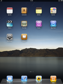 Apple iPad - Email - Manual configuration - Step 1