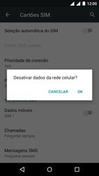 Motorola Moto G (3ª Geração) - Rede móvel - Como ativar e desativar uma rede de dados - Etapa 6