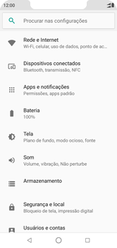 Motorola One - Rede móvel - Como ativar e desativar o roaming de dados - Etapa 4