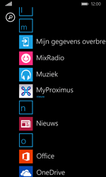 Microsoft Lumia 532 - Applicaties - MyProximus - Stap 10