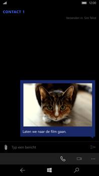 Microsoft Lumia 950 XL - MMS - afbeeldingen verzenden - Stap 16