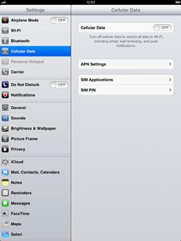 Apple iPad mini - Internet - Manual configuration - Step 4