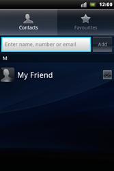 Sony Ericsson Xperia Mini Pro - Mms - Sending a picture message - Step 5