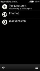 Nokia 808 PureView - Internet - Handmatig instellen - Stap 8
