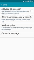 Samsung A300FU Galaxy A3 - SMS - configuration manuelle - Étape 7