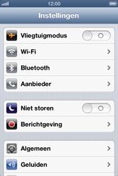 Apple iPhone 4 (iOS 6) - bluetooth - aanzetten - stap 3