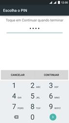 NOS SLIM - Segurança - Como ativar o código de bloqueio do ecrã -  8