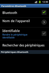 Samsung S5830i Galaxy Ace i - Bluetooth - connexion Bluetooth - Étape 9
