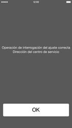 Apple iPhone 6 iOS 8 - Mensajería - Configurar el equipo para mensajes de texto - Paso 6