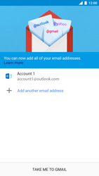 Nokia 8 (SingleSim) - Email - 032c. Email wizard - Outlook - Step 12
