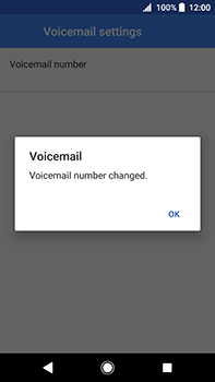 Sony Xperia XA2 Ultra - Voicemail - Manual configuration - Step 11