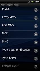 Sony Ericsson Xperia Arc S - Mms - Configuration manuelle - Étape 11