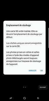 Samsung Galaxy S8+ - Photos, vidéos, musique - Créer une vidéo - Étape 4