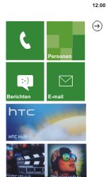 HTC C110e Radar - E-mail - e-mail instellen: POP3 - Stap 13