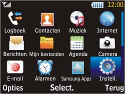 Samsung S3570 Chat 357 - MMS - Handmatig instellen - Stap 3